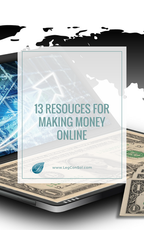 13 Incredible Resources For Making Money Online