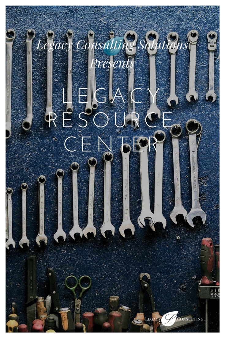 Legacy Consulting Solutions Resource Center eBook