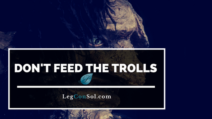 Regardless of what the trolls may say there is no such thing as 'safe' anymore. Don't Feed The Trolls.