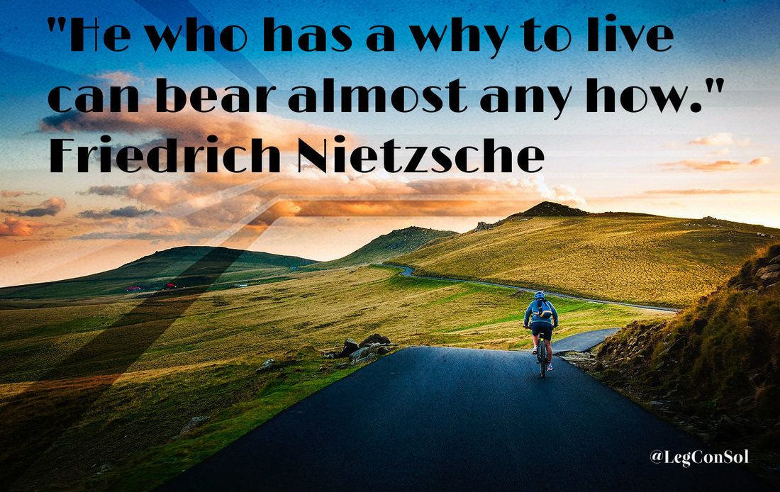 He who has a why to live can bear almost any how.~ Friedrich Nietzsche
