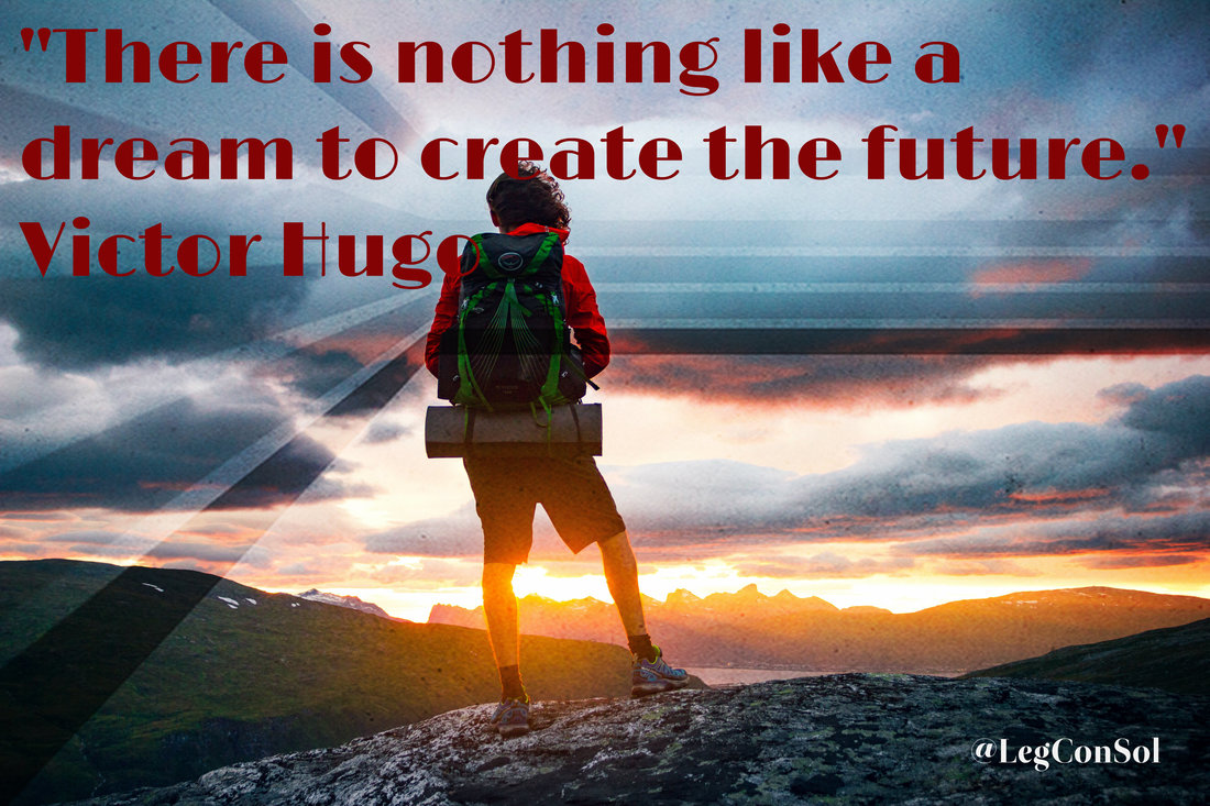 There is nothing like a dream to create the future.~ Victor Hugo