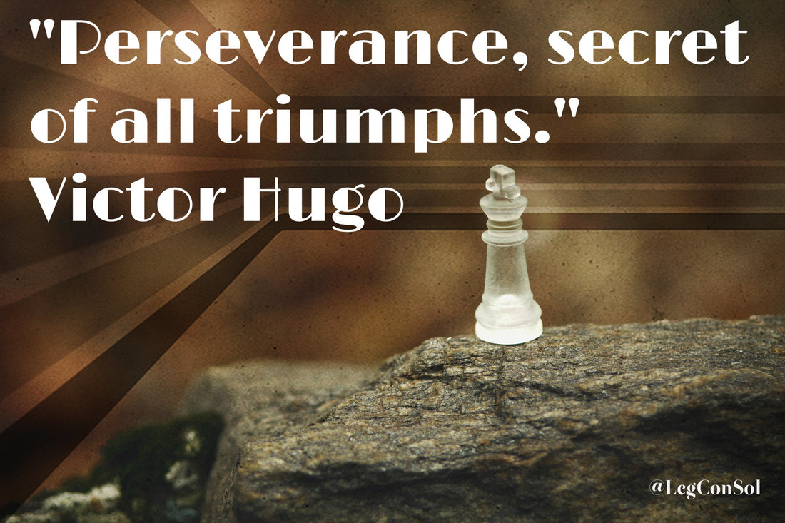 Perseverance, secret of all triumphs.~ Victor Hugo
