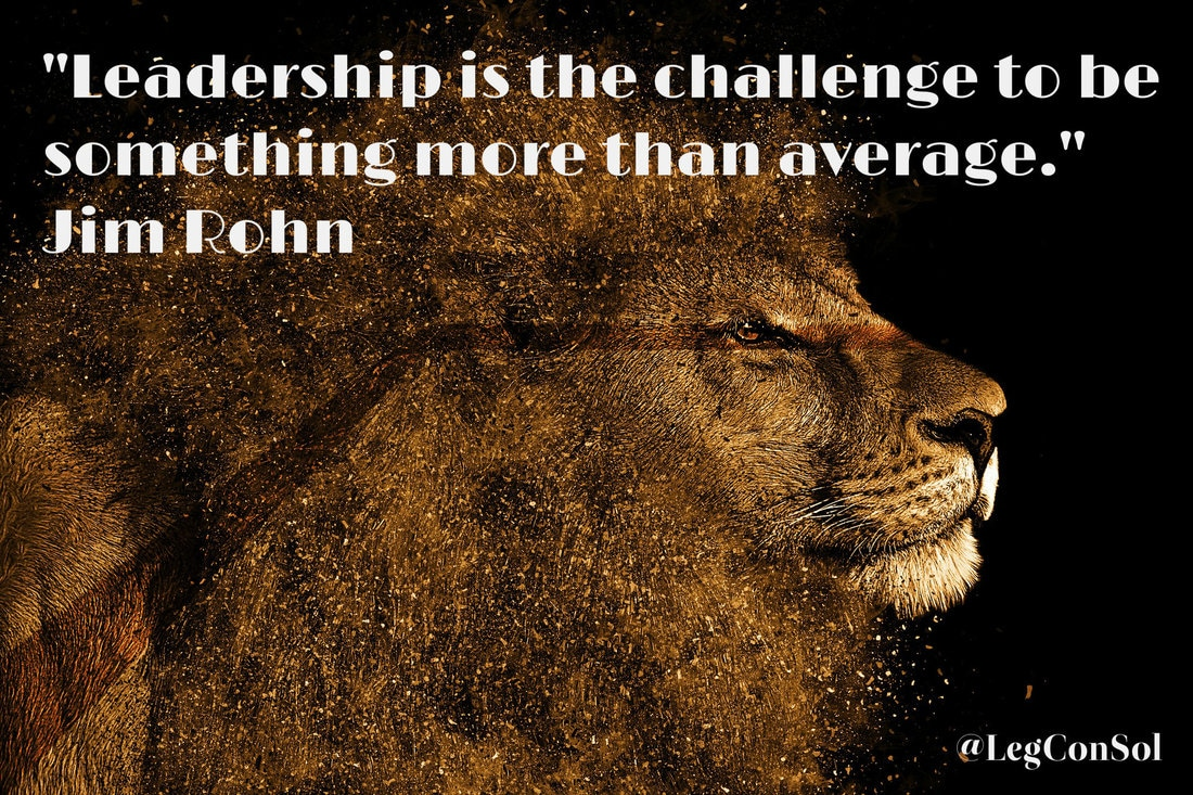 Leadership is the challenge to be something more than average.~ Jim Rohn