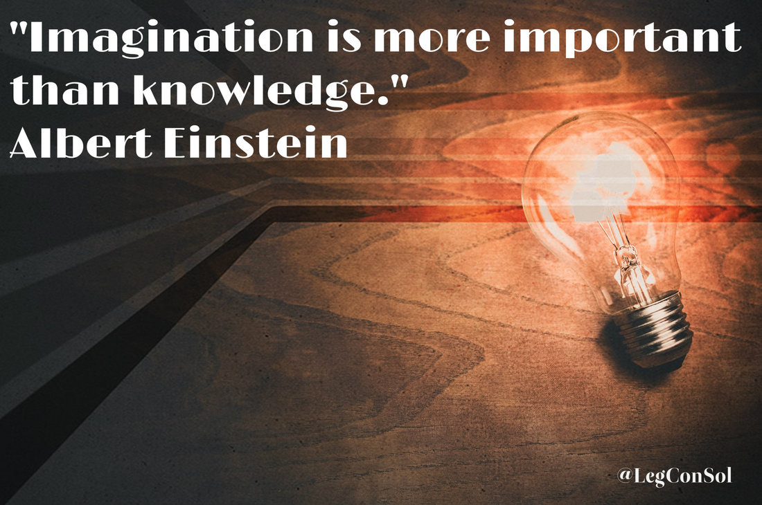 Imagination is more important than knowledge.~ Albert Einstein