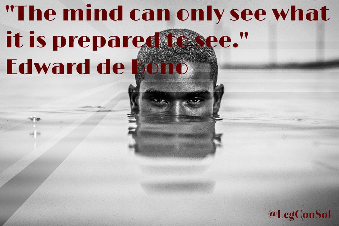 The mind can only see what it is prepared to see.~ Edward de Bono