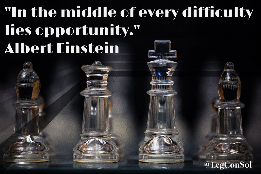 In the middle of every difficulty lies opportunity.~ Albert Einstein