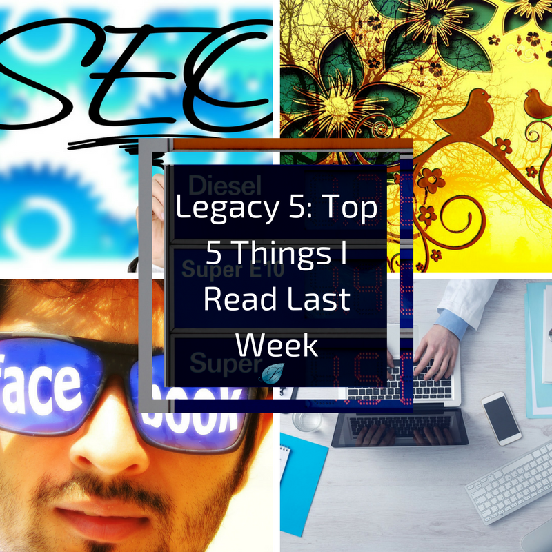 We scour the web so that you don't have to. Enjoy the 5 best things I read last week.