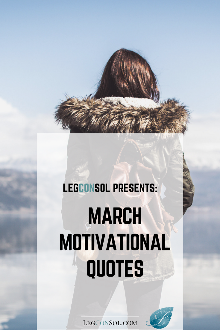 March's Motivational Quotes Downloadable eBook